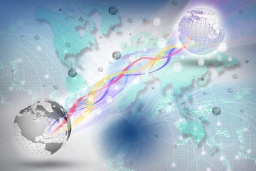 world telecommunication in digital period