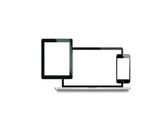 laptop tablette smartphone volant