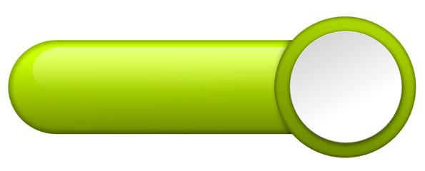 Webbutton grün