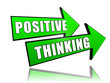 positive thinking in arrows