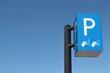 Schild an einem Parkscheinautomat in den Niederlanden - 55683495