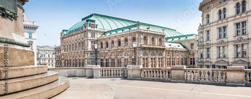 Foto Spatwand Wenen Wiener Staatsoper (Vienna State Opera) in Vienna, Austria
