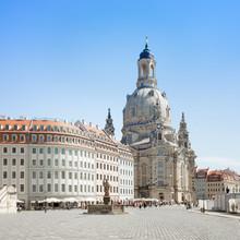 Neumarkt avec Dresdner Frauenkirche