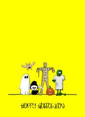 plakat halloween XXIII