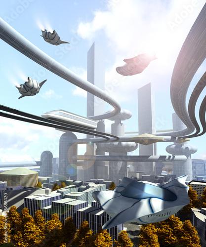 widok-z-lotu-ptaka-futurystyczne-miasto