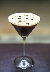 espresso martini alcoholic cocktail drink