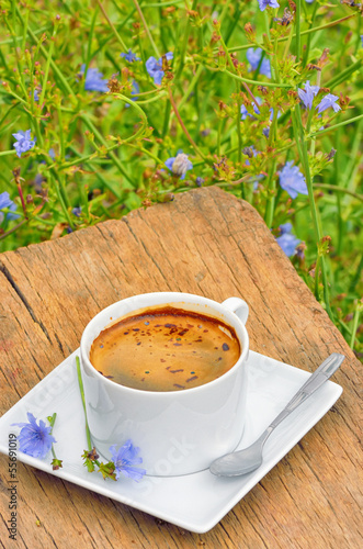 Chicory hot drink