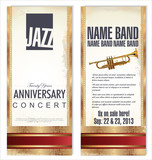 Ticket or flyer for jazz festival