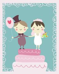 coppia di sposi