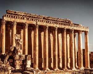 Jupiter's temple, Baalbek, Lebanon