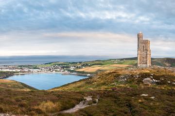 Milner's Tower and Port Erin Bay