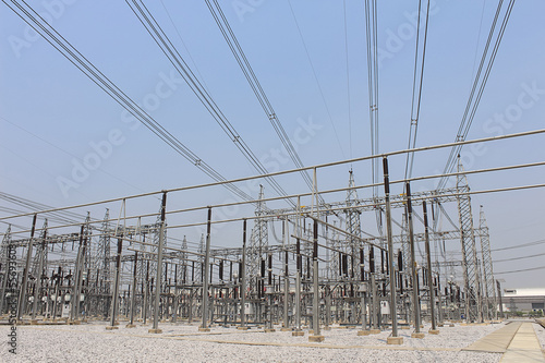 Electricity transmission yard