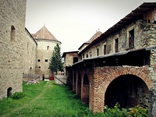 Fagaras Fortress - towers