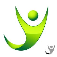 Mensch, Glaube, Freiheit - Symbol