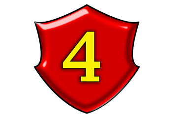 Liczba cztery