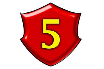 Liczba pięć