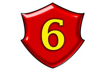 Liczba sześć