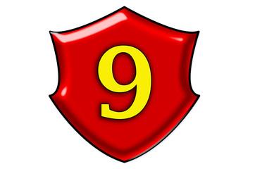 Liczba dziewięć
