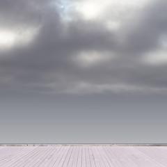 somber sky