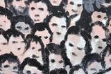 Fototapety caras de gente graffiti 9478f