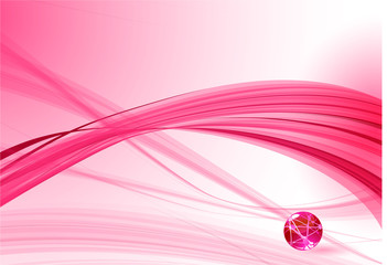 Pink abstraction. vector