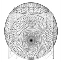 Geometric Intersection Of Cube And Sphere Vector