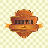 chopper motorcycle label - 55702430