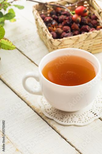 Tea with dry briar