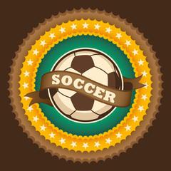 Soccer badge.