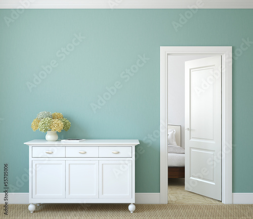 canvas print picture Hallway.