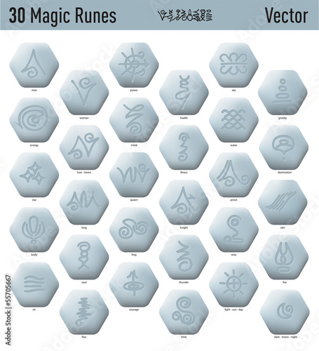 Antique Magic Runes