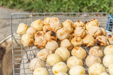 sweet toast grinded cassava