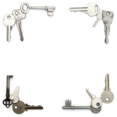 Keys frame corners