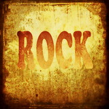 rock word music background