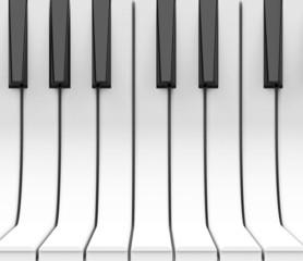Die Pianotasten