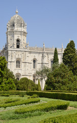 Church in Hieronymites Monastery, Lisbon