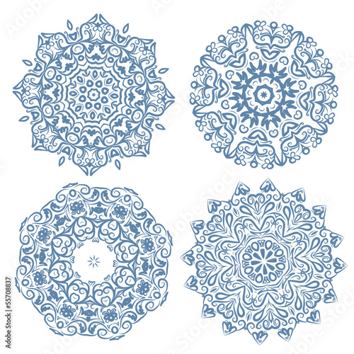 Set of arabesque ornament for your design
