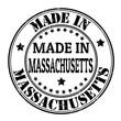 Made in Massachusetts stamp