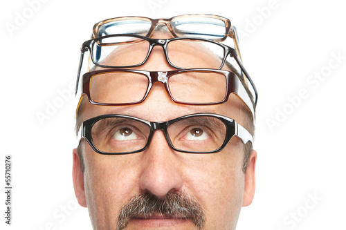 The businessman and spectacles