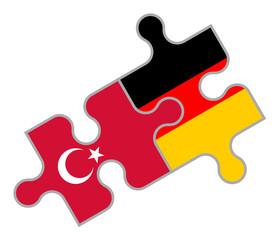 Türkisch-Deutsches Puzzle