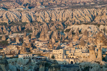 Goreme village in Cappadocia, Turkey