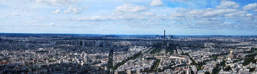 Panorama de Paris depuis la Tour Montparnasse