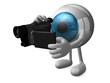 big blue eye videomaker