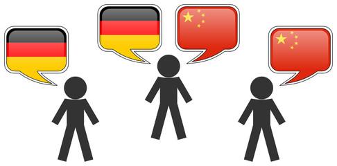 Dolmetscher: Deutsch - Chinesisch