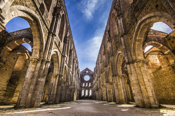 HDR of Saint Galgano abbey