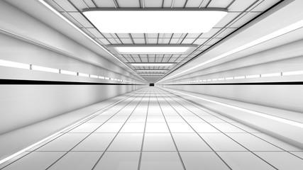 Futuristic interior © crisagperez