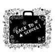 School bag sketch for your design