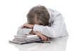 Krankheit Burnout - ältere Arbeitnehmer - Angestellte gestresst