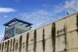 Leinwanddruck Bild - The prison wall.