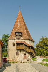 The Shoemaker's Tower Built In 1681 In Medieval City Sighisoara